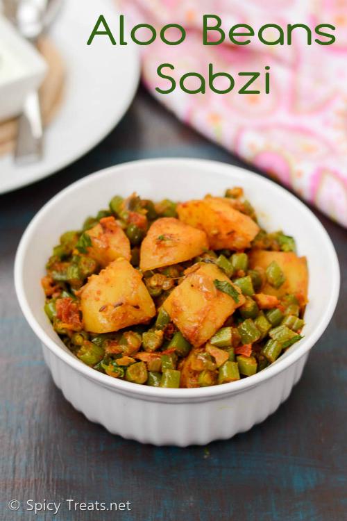 Aloo Beans Sabzi