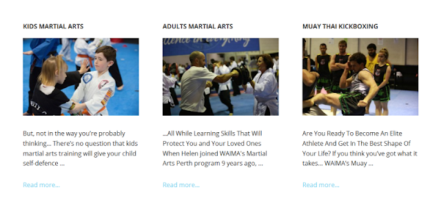 reputable martial arts training centre in Perth