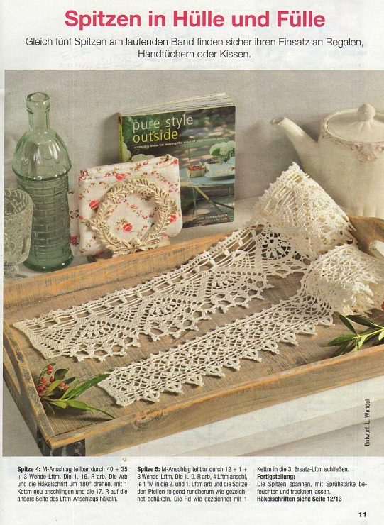 crochet beauty lace for border