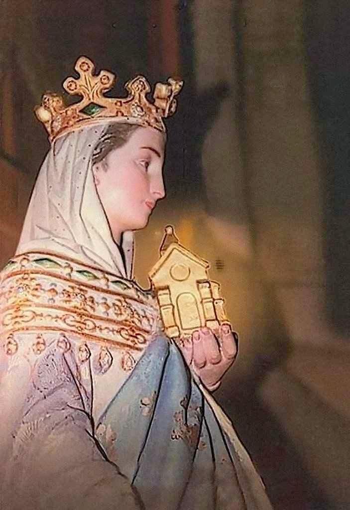 Santa Ida de Boulogne mandou construir uma catedral para Nossa Senhora do Grande Retorno