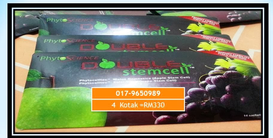 Promo Feb: 4 Kotak Double Stem cell
