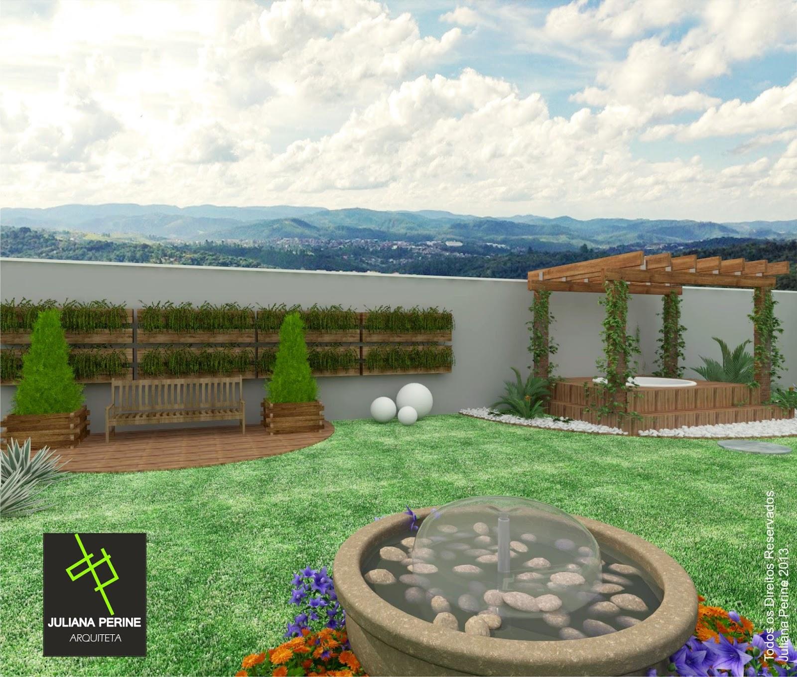 projeto de ofuro no jardim: Moderno x Sustentável [Projeto Residencial em Piracicaba-SP