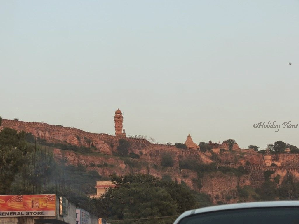 chittorgarh fort in rajasthan