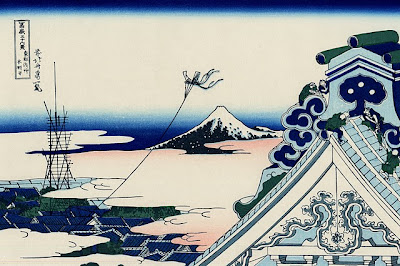 Temple de Honganji a Asakusa (Katsushika Hokusai)