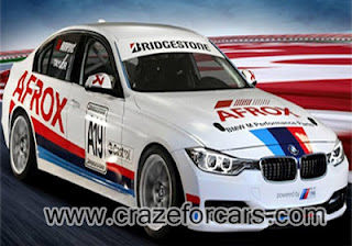 BMW F30 based race car