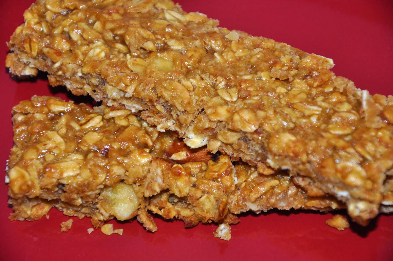 Great Blender Recipes: Banana Nut Crunch Granola Bar