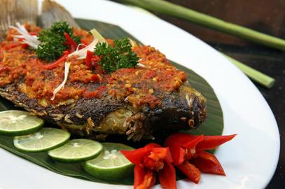 Resep Masakan Gurame Goreng Bumbu Rujak