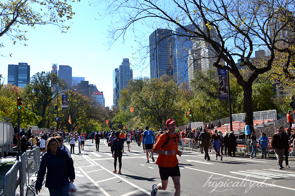 New York November 2012 Central Park Run