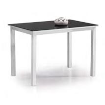 precio mesa cocina cristal negro porcelanico aries
