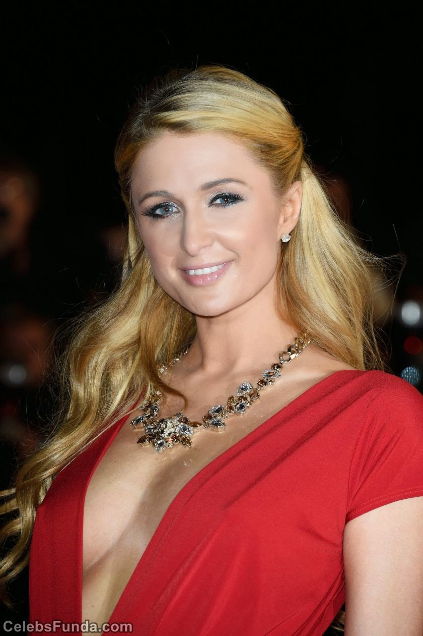 Paris Hilton Looks Hot in Red at NRJ Music Awards 2014 in ... Paris Hilton