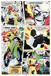 Ghost Rider v3 #23 marvel comic book page art by Don Newton