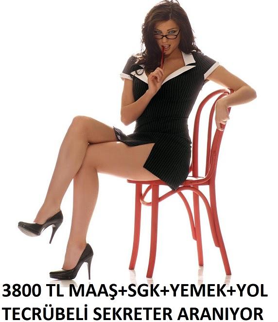 Sekreter iş ilanları ankara istanbul bursa izmir sekreter