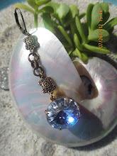 Vintage Swarovski Crystal Rivoli Drops