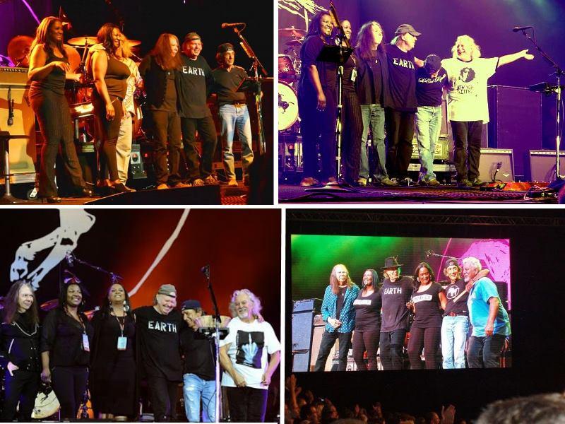 Neil Young & Crazy Horse, YaDonna West, Dorene Carter
