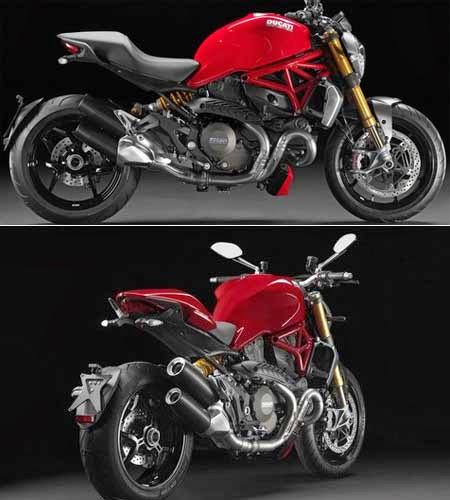 Gambar Ducati Monster 1200 terbaru