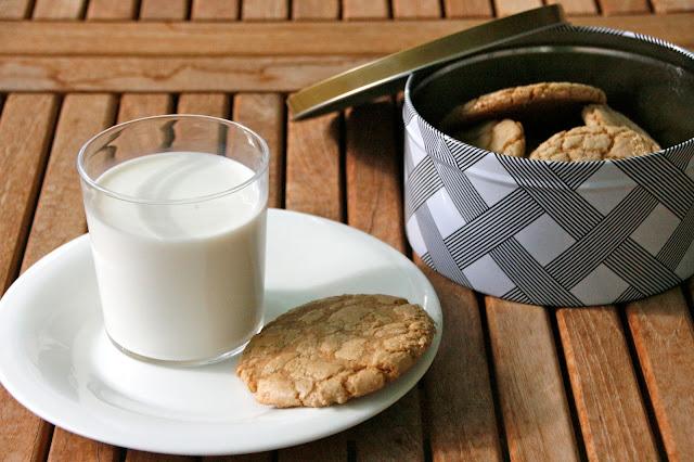Galletas de azúcar moreno para el desayuno