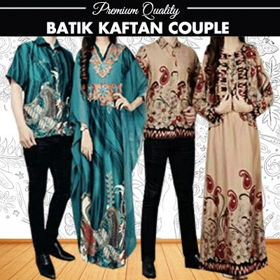 Baju Gamis Kaftan Couple