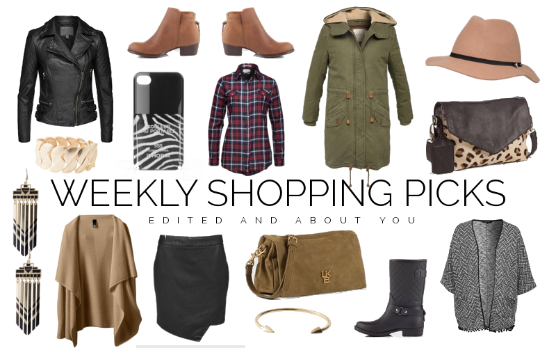 Weekly shopping picks - Edited and About you