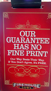 Our guarantee has no fine print