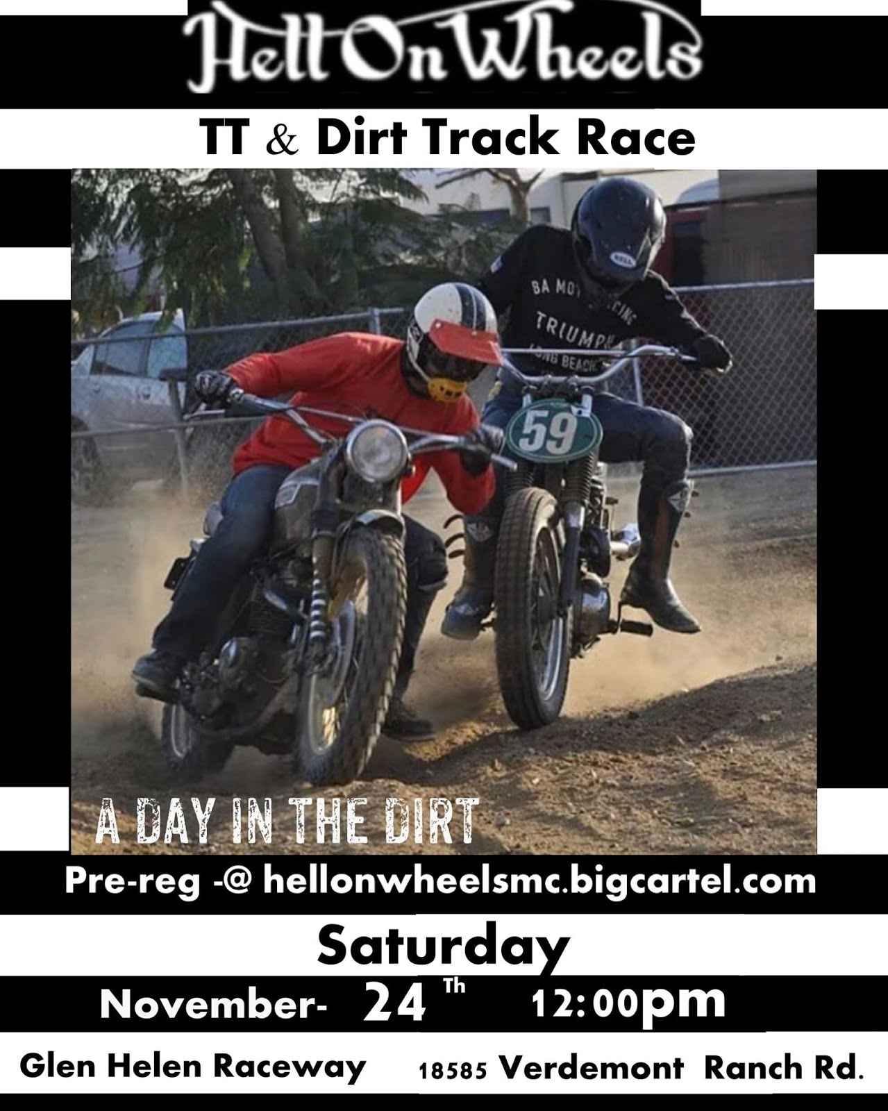 Hell on Wheels TT Dirt Track @ A Day in the Dirt 2018