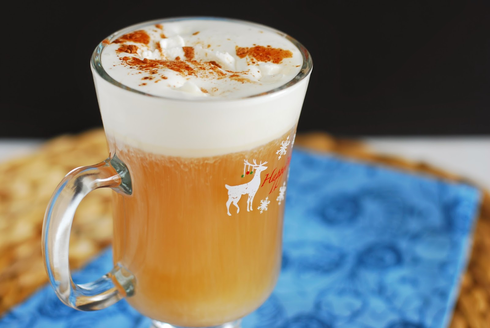 Call me fudge happy hour hazelnut coffee hot toddy for Hot alcoholic beverages