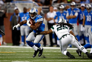 Detroit Lions — Nate Burleson sizes up Ameer Abdullah