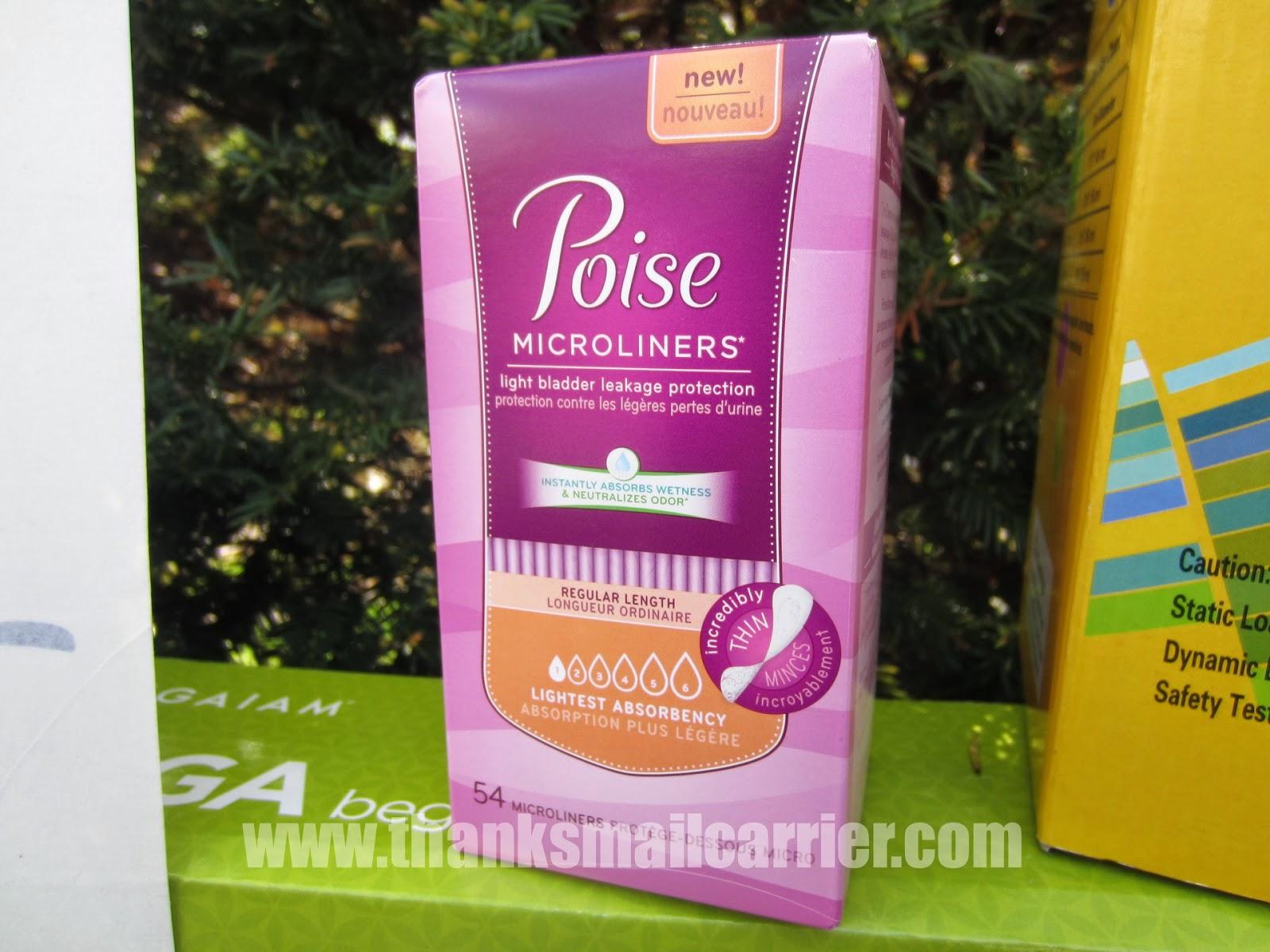 Poise Microliner #SAMInYourPants