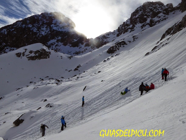 Curso de alpinismo en ubiña