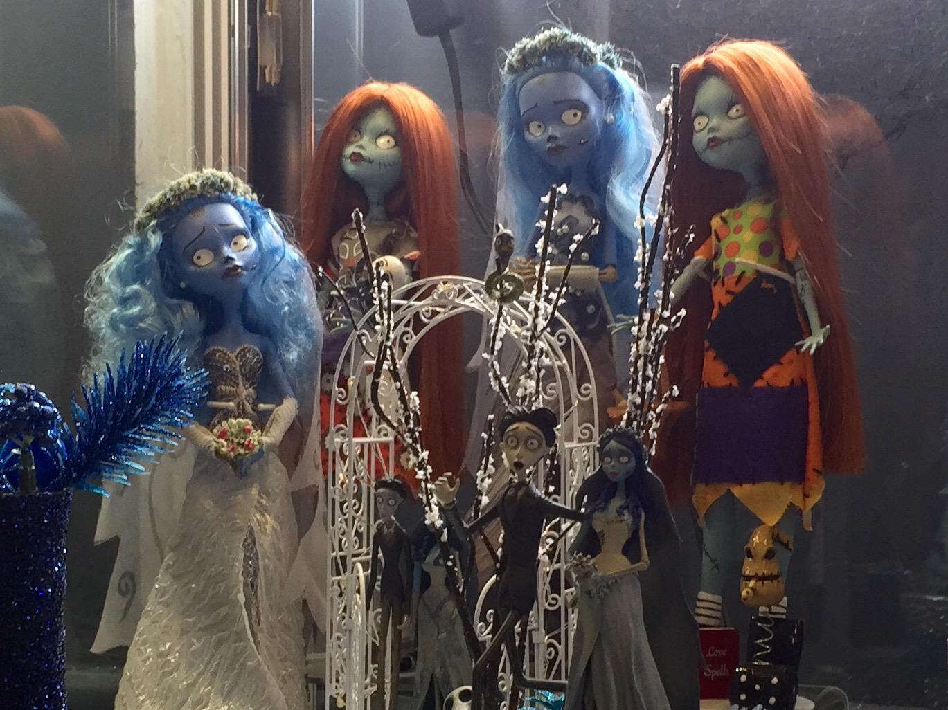 Inspiration for the Monster High dolls?