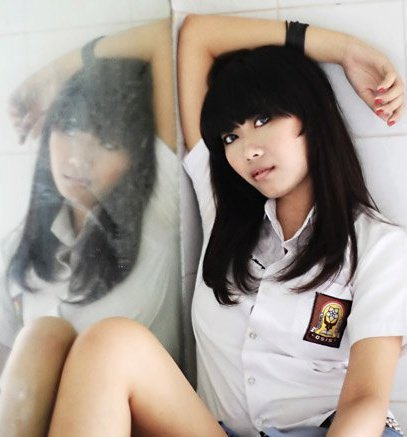 Sexy Indonesian Senior School Girl From Bogor City