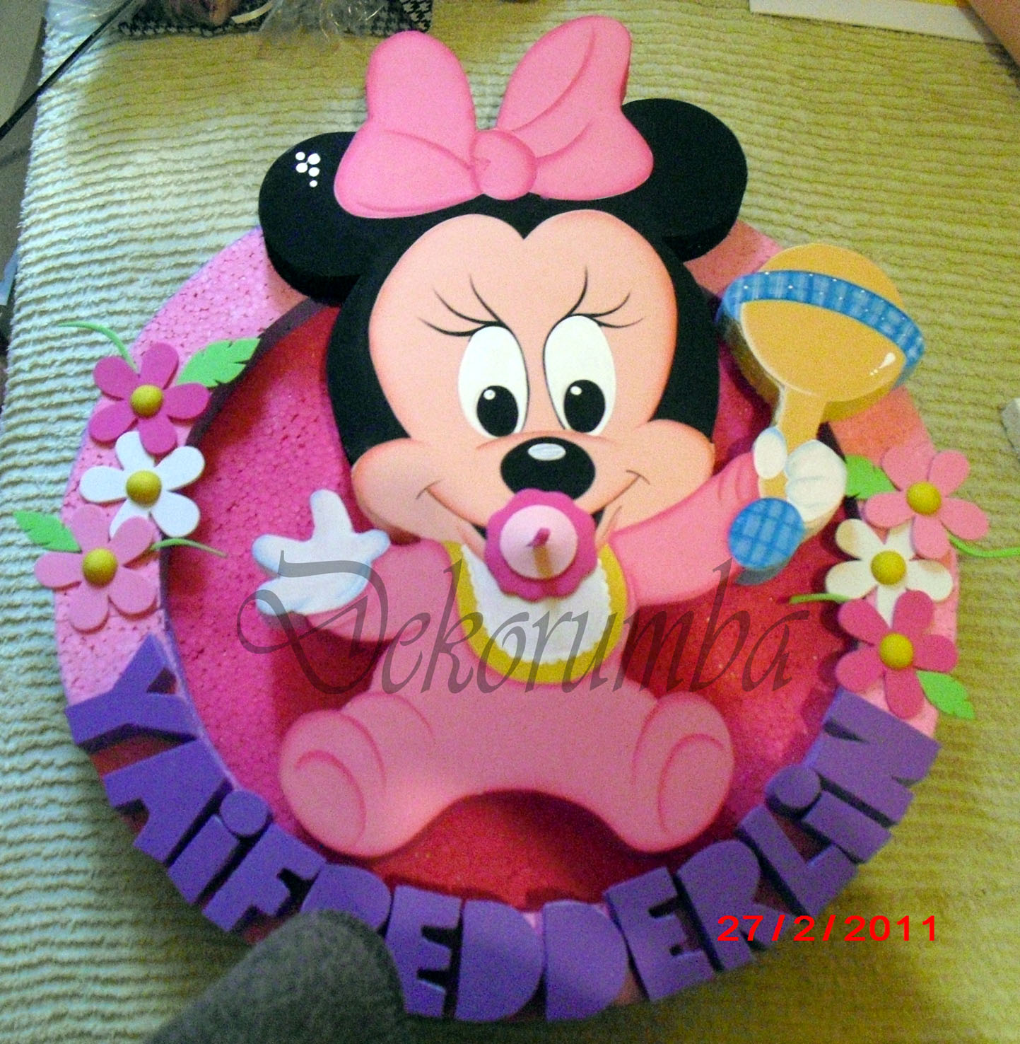 Minnie Mouse baby chupetera - Imagui