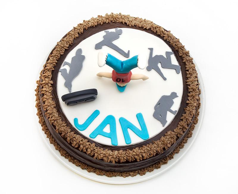 Hip hop torta /Hip hop cake top