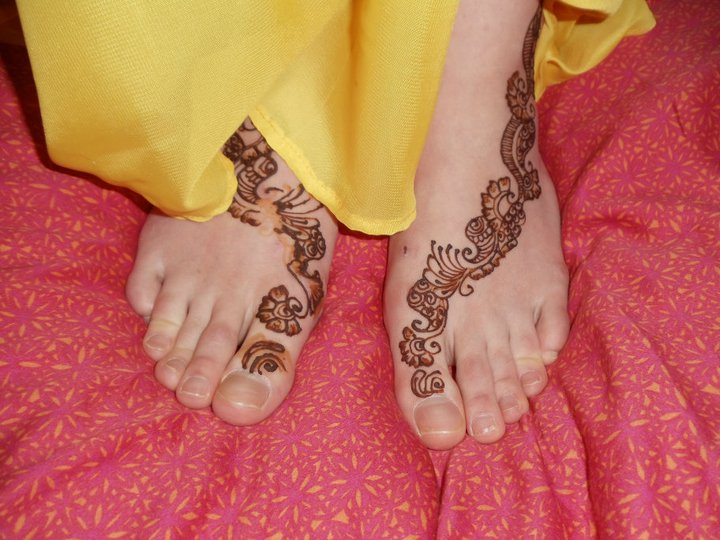Mehndi Party Invites : Afsheen's birthday