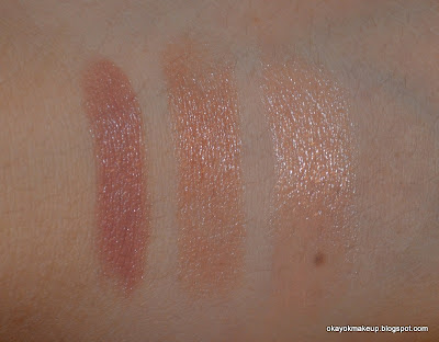 drugstore nude lipstick swatches