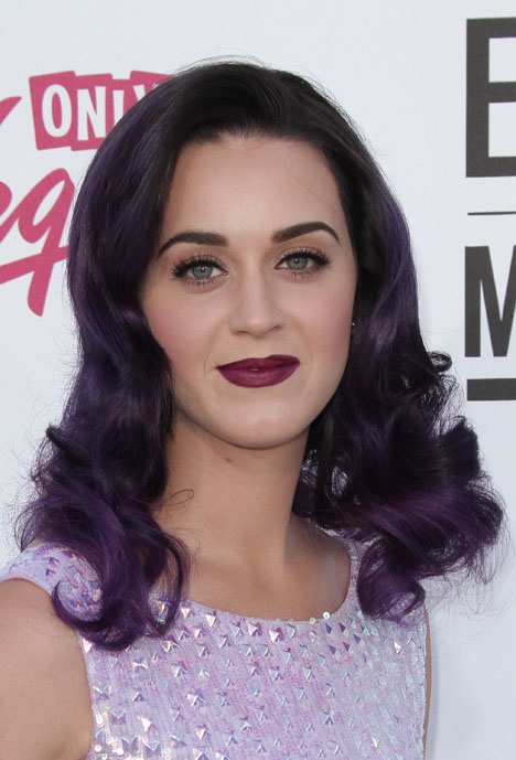Katy Perry Katy Perry Purplehair