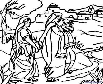 Dibujos de Ruth y Nohemi para colorear | Dibujos infantiles ...