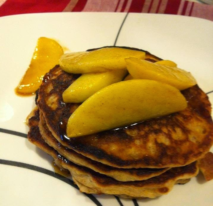 Butter Believe It: Cinnamon Buttermilk Pancakes with Maple ...