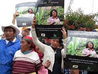 (Fotos) Miles de personas dieron conmovedora despedida a la luchadora dirigente indígena Bertha Các