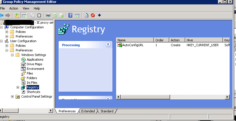 how to change proxy settings in internet explorer from registry