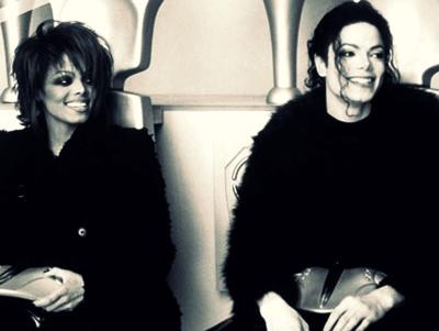 Michael Jackson Janet Smile