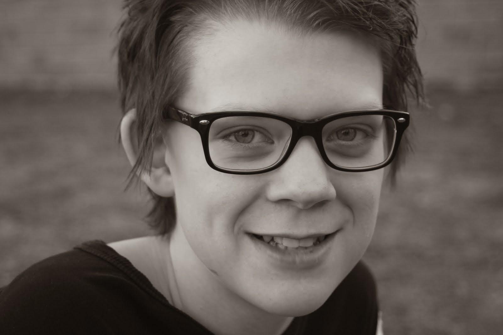 David 14 år