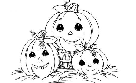 Dibujos de calabazas para imprimir bebes y embarazo Disegni halloween da colorare gratis