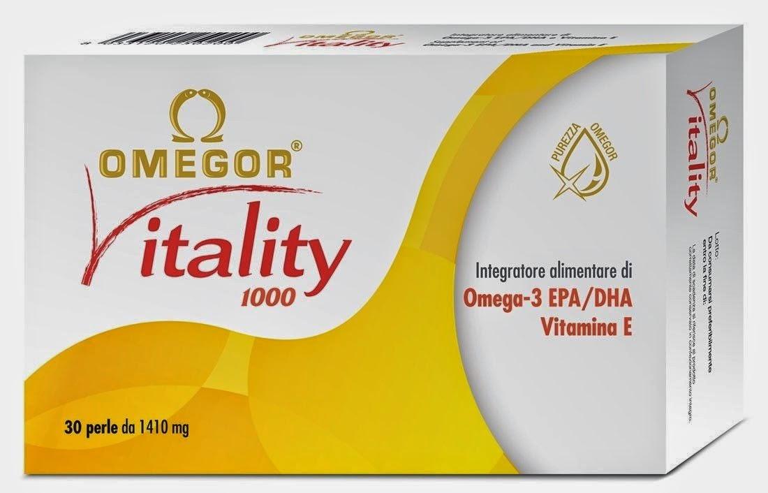 Omegor Vitality, integratore alimentare per supplemento di omega-3