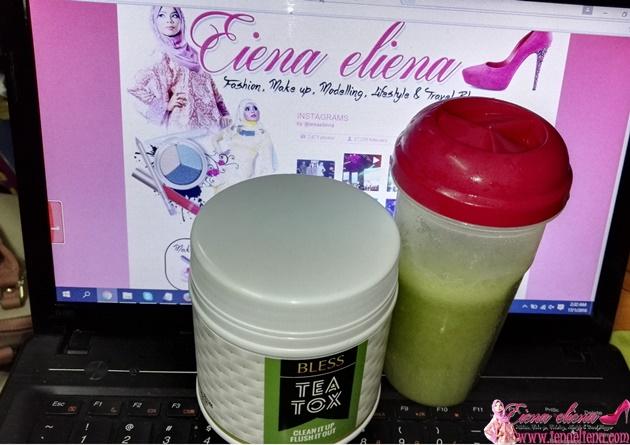Sihat dan Kurangkan Berat dengan BLESS TeaTox