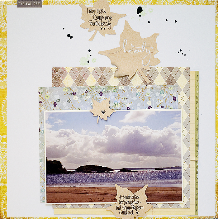 Scrapbooking, Layout, Ireland