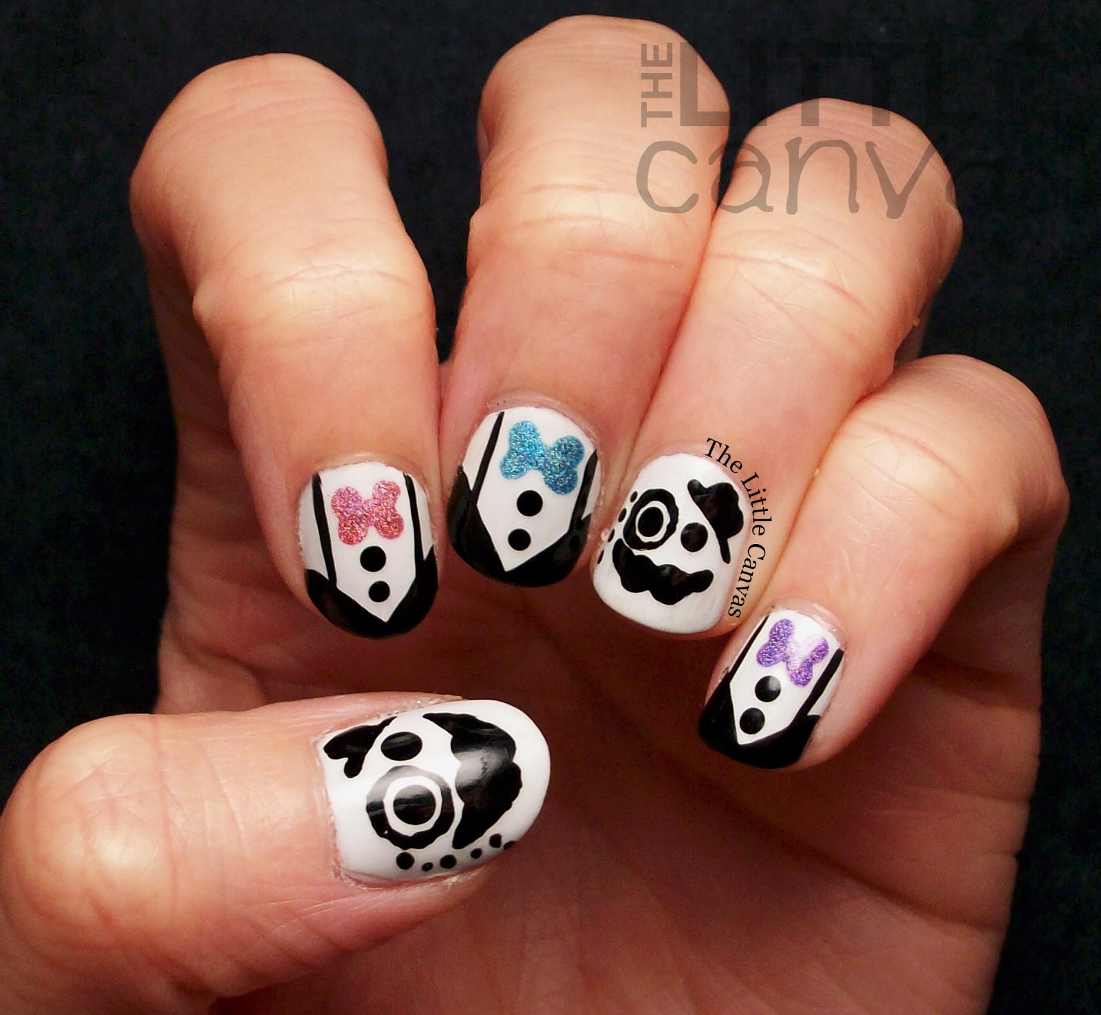 Fancy schmancy movember tuxedo men tutorial the little canvas now that i have become a better nail artist i decided this would be a good manicure to reattempt on my own nails for movember lets take a look prinsesfo Image collections