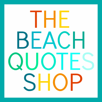 beach quotes art