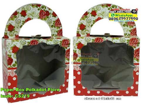 Paper Box Polkadot Fiore