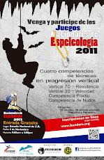 JUEGOS NACIONALES DE ESPELEOLOGIA COSTA RICA 2011