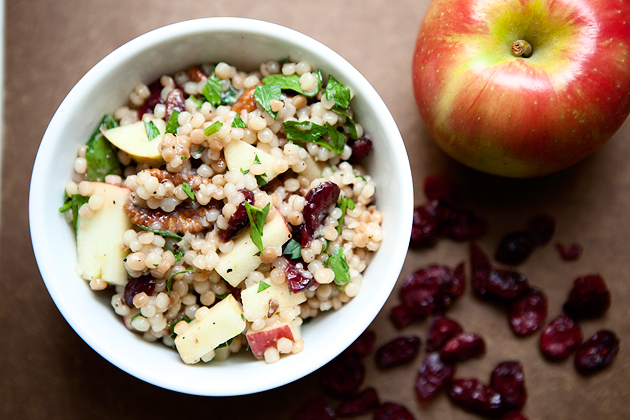 cranberry apple couscous
